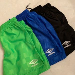 Umbro Youth Checkerboard Soccer Shorts {Lot of 3}